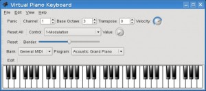 Pianoforte virtuale tastiera online da suonare for Strumento online gratuito piano piano
