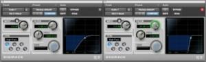 filtro audio effetto