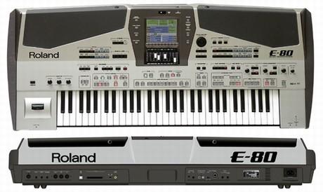 roland e80 tastiera